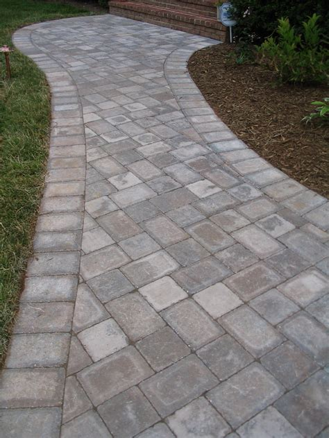 brick walks brick paver walkways emerald landscaping