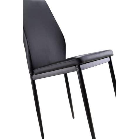 lot chaises pas cher lot de 6 chaises noires raul achat vente chaise salle a manger pas cher couleur et design fr