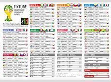 Tutorial de Artesanías Fixture imprimible Campeonato