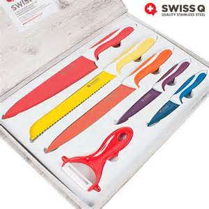 swiss knives kitchen buy swiss q 6 stainless steel knife set at wholesale price