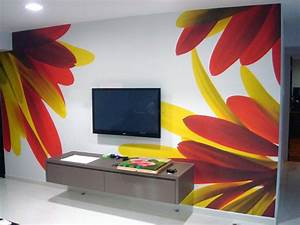Creative wall paint designs ideas of