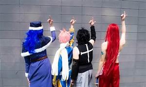 Juvia Natsu Gray and Erza - Fairy Tail 11 by XRavenheart ...