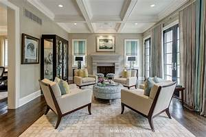 Salon Classique Chic : classic chic living room classique chic salon jacksonville par chroma home ~ Dallasstarsshop.com Idées de Décoration