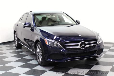 View vehicle details and get a free price quote today! 2015 Used Mercedes-Benz C-Class CERTIFIED C300 4Matic AWD Blind Spot LED CAM NAVI at ...