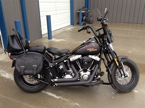 2010 Harley-davidson® Flstsb Softail® Cross Bones™ (black