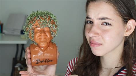 I Grew A Bob Ross Chia Pet So You Don't Have Too