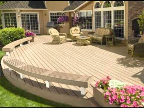 modele de terrasse en bois exterieur images