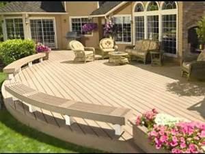 modele de terrasse en bois exterieur images With modele de terrasse en bois