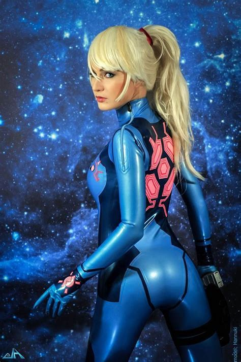 samus aran cosplay nude cumception