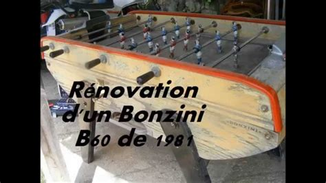 baby foot bonzini exterieur r 233 novation d un baby foot bonzini b60 de 1981