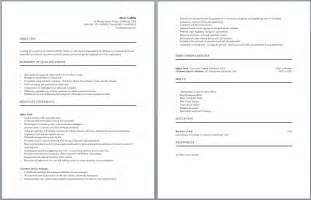 resume format for cost accountants association in united resume templates accounting clerk