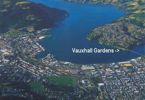 vauxhall gardens today vauxhall dunedin new zealand vauxhall history