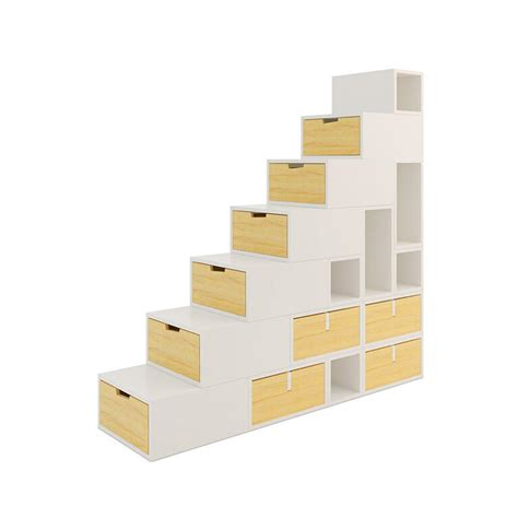 escalier cube pour mezzanine escaliers espace loggia