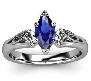 blue sapphire wedding rings blue sapphire celtic wedding ringwedwebtalks wedwebtalks