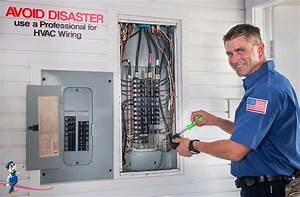 Avoid Disaster  Use A Professional For Hvac Wiring