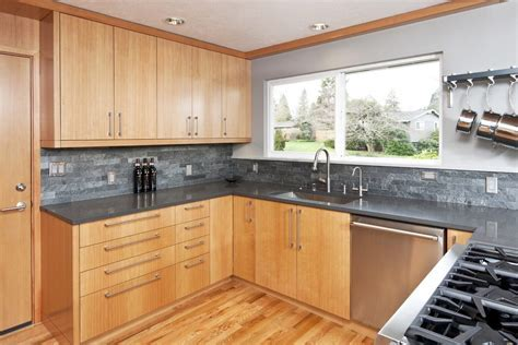 minneapolis honey oak kitchen craftsman with built in
