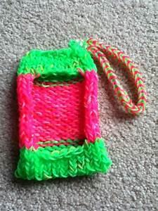 Rainbow Loom iPod Touch 4 Case!