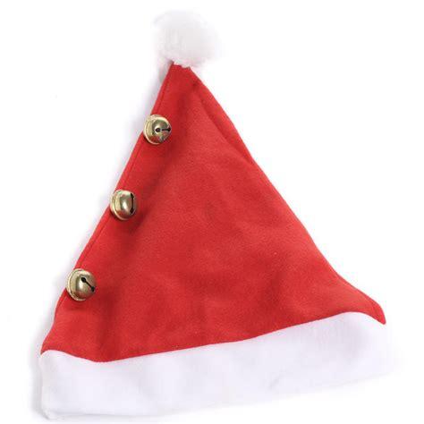 red felt jingle bell santa hat doll hats doll making
