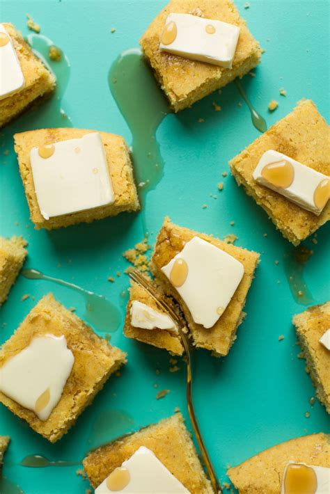 I'm pretty certain she once made herself a bowl of the batter to eat as a snack, with no. Vegan Gluten-Free Cornbread | Minimalist Baker Recipes