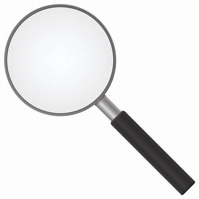 Magnifying Glass Transparent Loupe Vector Clipart Clip