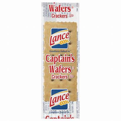 Lance Crackers Captain Wafers Individual Packs Wafer