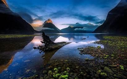 Zealand Island Desktop South Wallpapers Mountains Lake