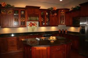 kitchen ideas cherry cabinets cherry kitchen cabinet pictures and ideas