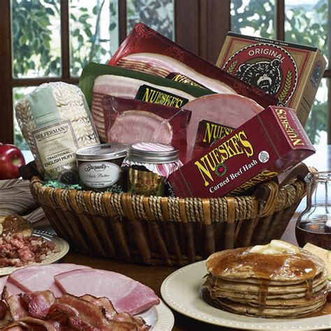 bountiful breakfast basket pancake gift basket nueskes