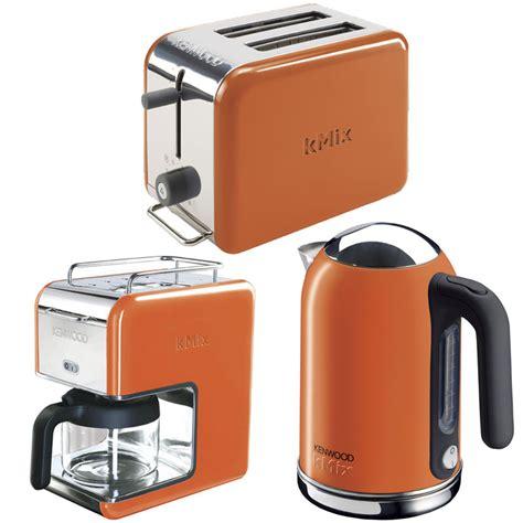 orange kitchen appliances new orange kenwood kmix boutique kettle stylish modern