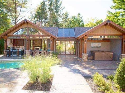 Pool Houses Have Become The Second Home, In Your Backyard