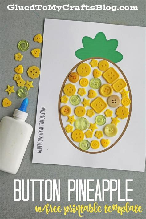 button pineapple kid craft kid buttons and html button 590 | 26f9380c3d97c550a6828f4f36d0fa8f