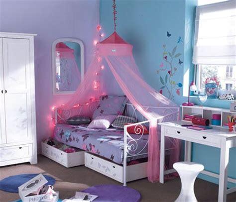 chambre bleu pour fille une chambre de fille bleue