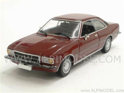 opel rekord d coupe minichs opel rekord d coupe 1975 metallic 1 43