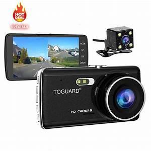 """Toguard 4"""" IPS Full HD 1080p Car Dash Cam Front and Rear ..."""