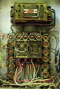 Vintage Household Fuse Box Photograph By Michael Eingle