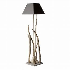 Lampe Sur Pied Bois : lampe sur pied ~ Teatrodelosmanantiales.com Idées de Décoration