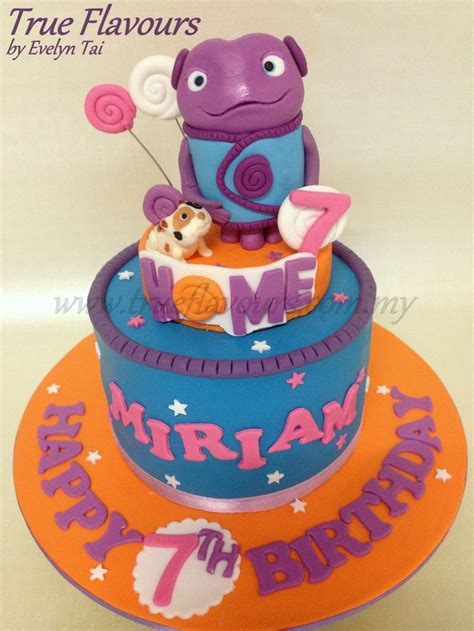 home cake home dreamworks animation the little boov named oh and his cat pig true flavours creative