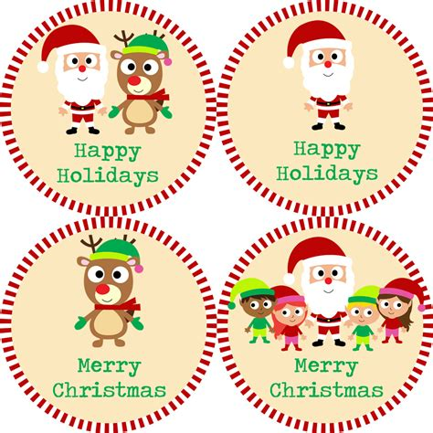 items similar to christmas stickers red and green