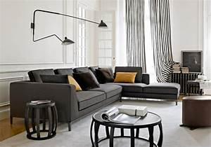 Graues Sofa Kombinieren : graues wohnzimmer akzente sofa grau beispiele warum sie ~ Michelbontemps.com Haus und Dekorationen