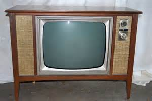 Black and White First Television