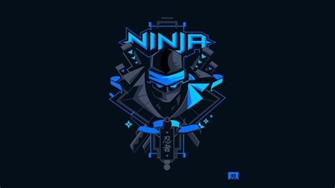 Fortnite Ninja Logo Wallpaper