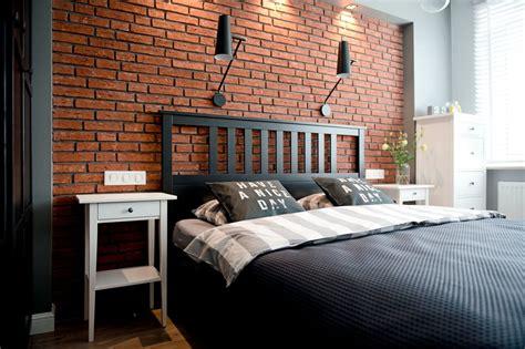 chambre mur gris chambre avec mur de briques apparentes picslovin