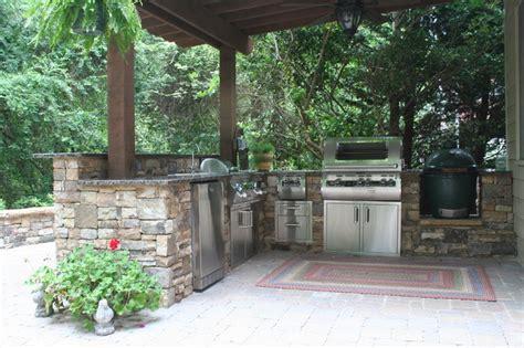 Atlanta Outdoor Kitchen And Patio  Traditional Patio