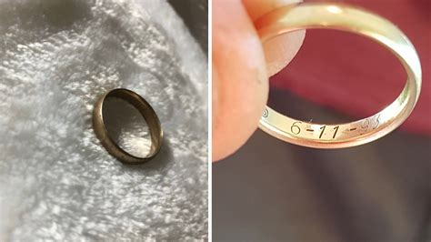 finds lost wedding ring owner eight years later 9honey
