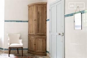 Meuble D Angle Chambre : armoire d 39 angle elison a poser au sol pib ~ Teatrodelosmanantiales.com Idées de Décoration