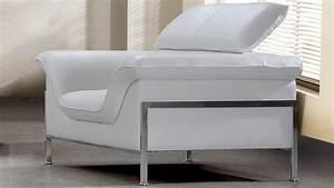 Fauteuil Cuir Blanc : fauteuils cuir mobilier cuir ~ Melissatoandfro.com Idées de Décoration