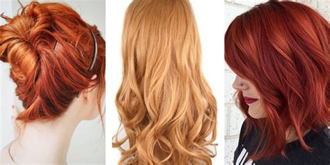 popular red hair color shades