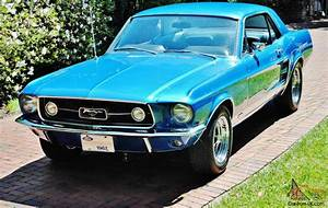 1967 Ford Mustang GTA S Code Coupe 390 v-8 marti report 1of 1 best of the best