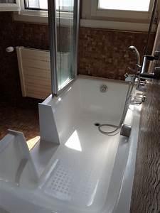 Transformer Une Baignoire En Douche : transformer une douche en baignoire cheap transformer une baignoire en douche italienne frache ~ Farleysfitness.com Idées de Décoration