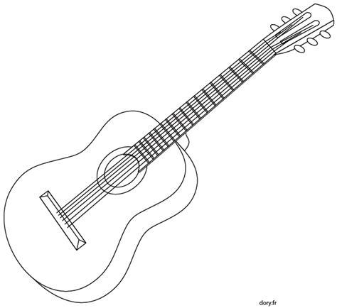 batterie cuisine en coloriage une guitare acoustique dory fr coloriages
